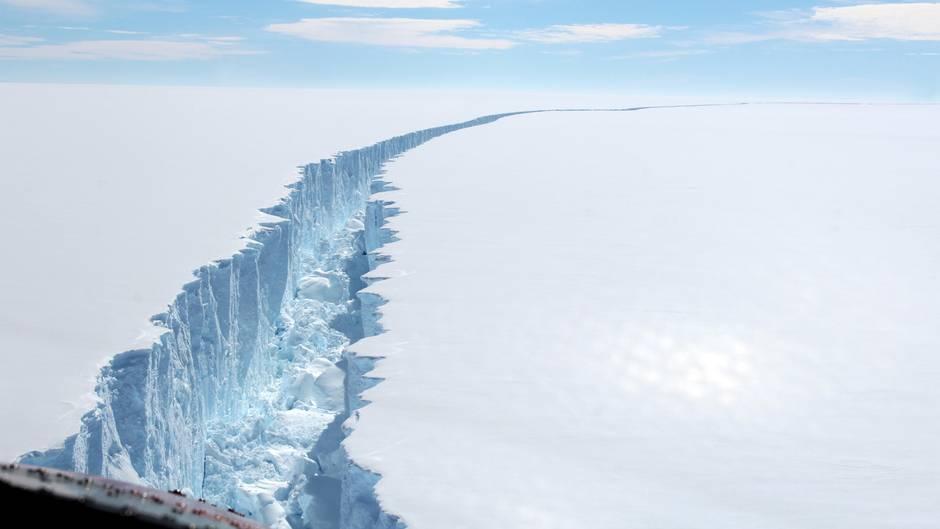 Abbruch vom Larsen-C-Schelfeis: Eisberg A68