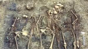 Lehrreicher Fund: Es handelt sich um die größte erhaltene Grablege der Epoche in Deutschland