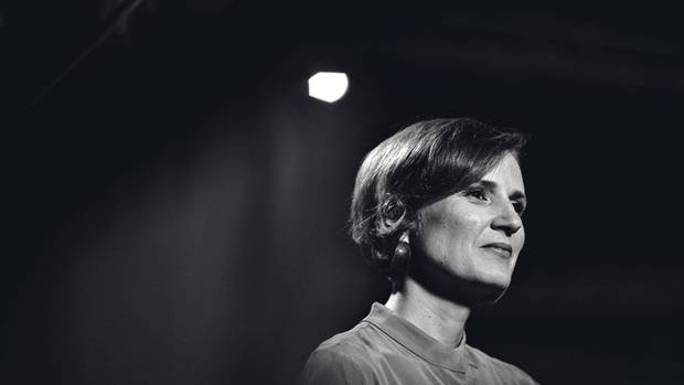 Katja Kipping ist seit 2012 gemeinsam mit Bernd Riexinger Vorsitzende der Linken. Sie sitzt seit 2005 im Bundestag. Ihr Verhältnis zu Wagenknecht gilt als zerrüttet