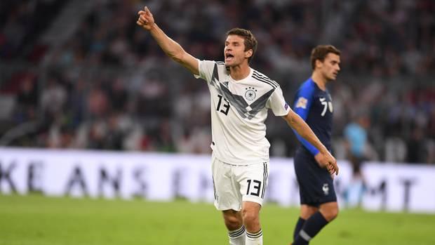 Nations League: Deutschland gegen Frankreich