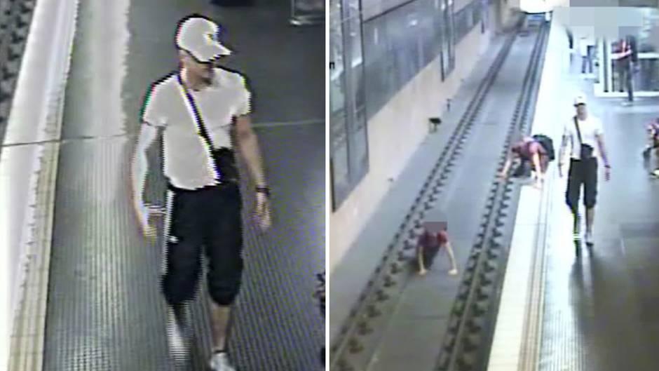 Fahndungsvideo: Köln: Brutaler U-Bahn-Schubser stellt sich nach Fahndung der Polizei