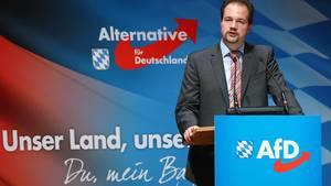 Martin Sichert, Landesvorsitzender der AfD in Bayern