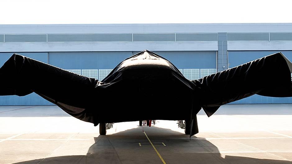 Das Nurflügel-Design dient den Stealth-Eigenschaften.