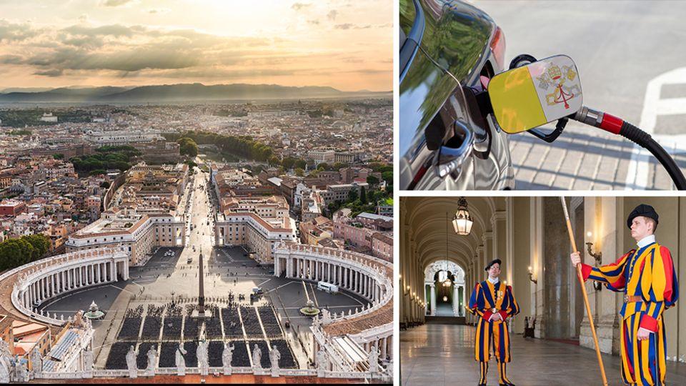 Im Herzen Roms: Vatikanstadt: Zehn überraschende Fakten über den kleinsten Staat der Welt