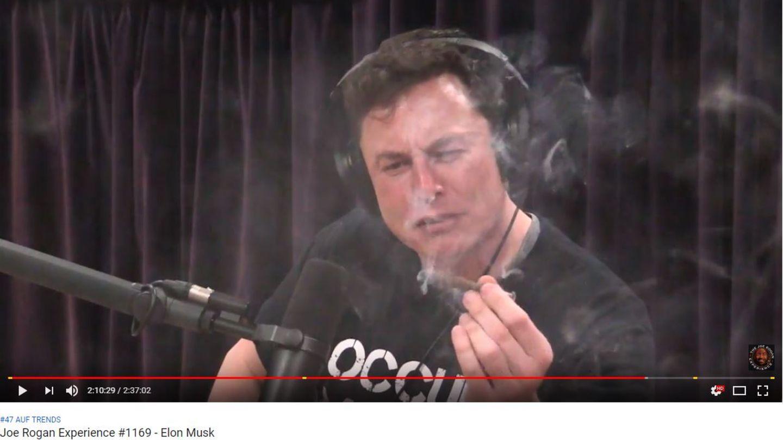 Elon Musk bei Joe Rogan