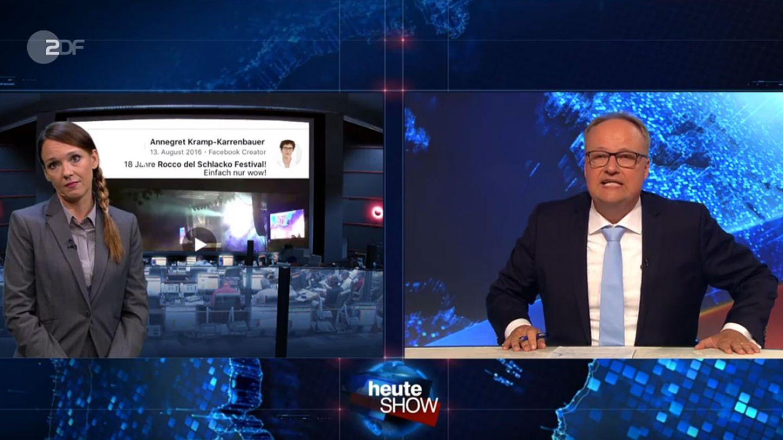 """Carolin Kebekus und Oliver Welke thematisierten in der """"heute-show"""" die Ereignisse von Chemnitz"""