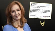 """""""Harry Potter""""-Autorin J.K. Rowling antwortet auf Twitter-Frage"""