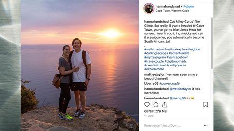 Hannah und Chad sind auf Weltreise und müssen dank eines Tricks kaum etwas dafür bezahlen.