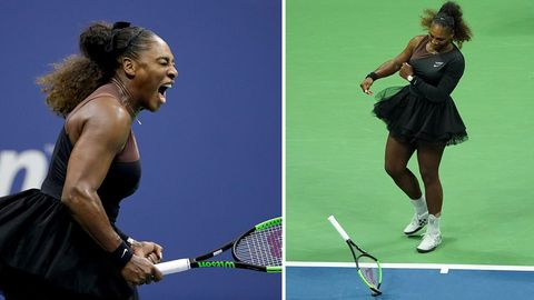 Serena Williams im Finale der US Open
