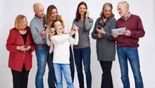 Ein kleiner Teil der Patchworkfamilie des Autors. Im Bild fehlen noch sieben weitere Familienmitglieder. Untereinander gibt es stets viel abzustimmen. Der Kalender am Kühlschrank reichte bald nicht mehr. Die Lösung: die digitale Familien-Administration. Schwieriger als erwartet.