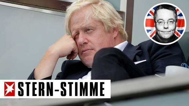 Boris Johnson, ehemaliger Außenminister von Großbritannien