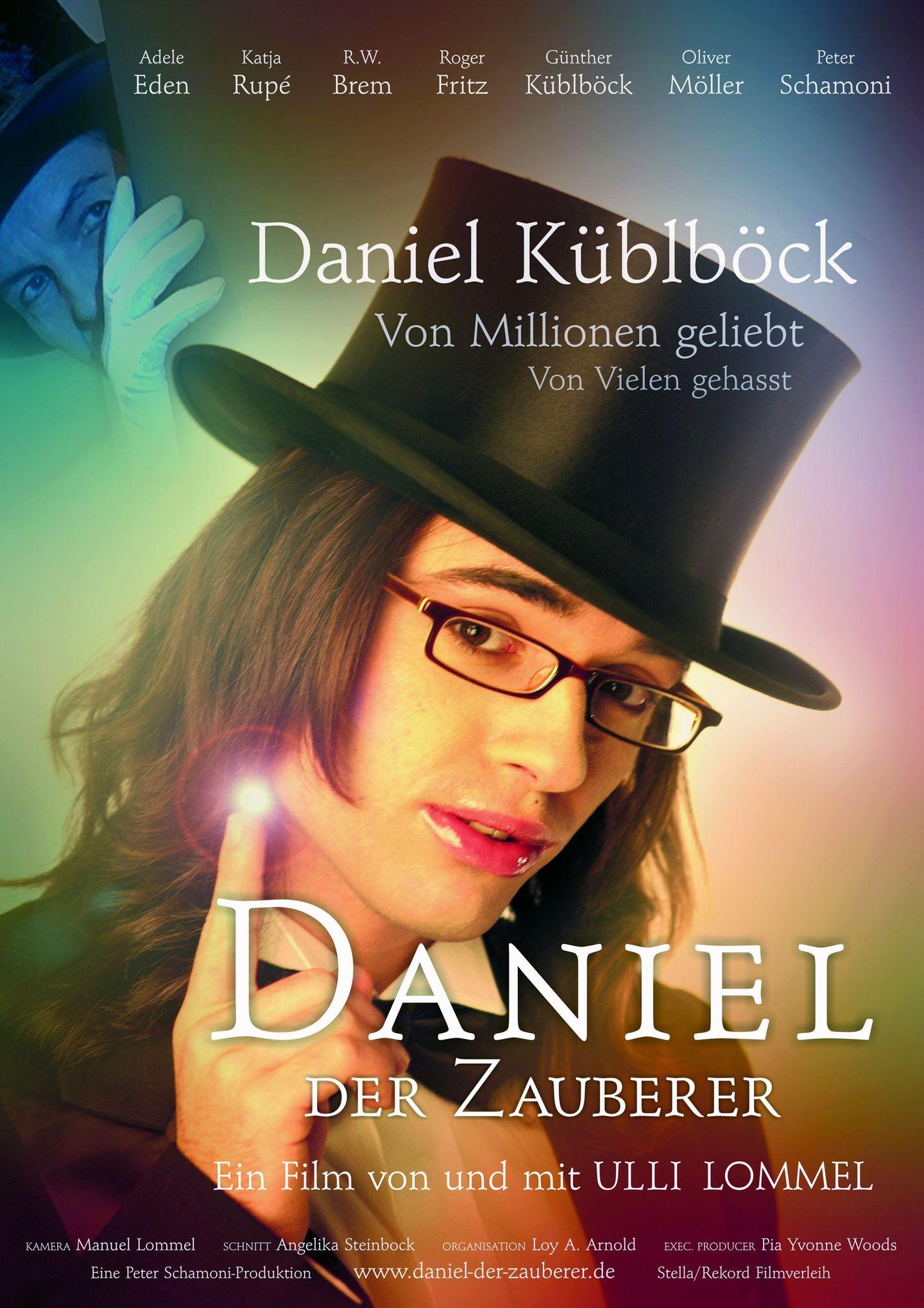"""""""Von Millionen geliebt, von Vielen gehasst"""" - so lautete der Untertitel auf dem Filmplakat zu """"Daniel, der Zauberer"""". Der 2004 erschienene Kinofilm gilt bis heute als einer der schlechtesten deutschen Filme aller Zeiten. Es war der Tiefpunkt seiner Karriere."""