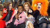 """Dürfte im kollektiven Bewusstsein längst verschwunden sein: Daniel Küblböck war gemeinsam mit Roberto Blanco, Caroline Beil und Nina Hagen Teil der Prominenten-Jury der RTL-Sendung """"Star-Duell"""". Darin sollten Promis, die nicht singen können, es trotzdem tun."""