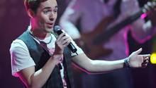 Viele Hits hatte der junge Sänger nicht. Hier ist er im November 2011 bei einer Aufzeichnung zur 100. Ultimativen Chart Show zu sehen.