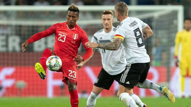 Testspiel Deutschland Peru