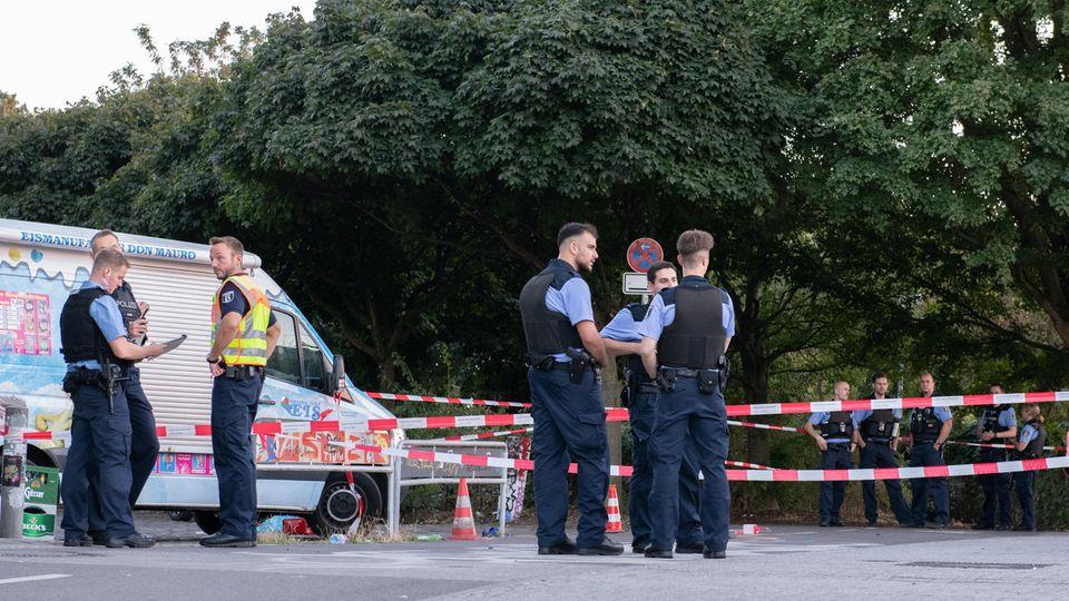 Nachrichten aus Deutschland: Schüsse in Berlin Tempelhof