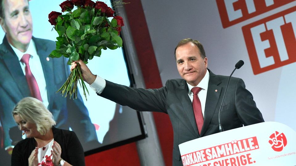 Stefan Löfven, Ministerpräsident von Schwedenund Vorsitzender der Sozialdemokratischen Partei