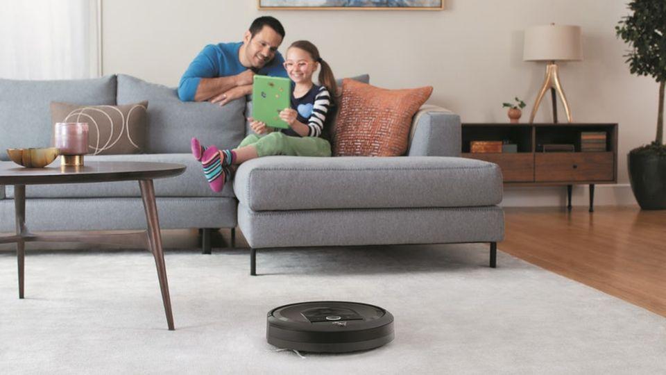 Eigentlich sollte der Roboter laufen, wenn man nicht im Haus ist.