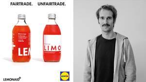 Lemonaid-Gründer Paul Bethke wehrt sich mit einer Social-Media-Kampagne gegen die Lidl-Kopie seiner Fairtrade-Limonade