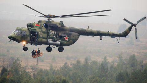 Militärmanöver Russland im Jahre 2017