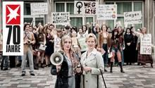 """Alwara Höfels und Anna Schudt in dem TV-Film """"Aufbruch in die Freiheit"""""""