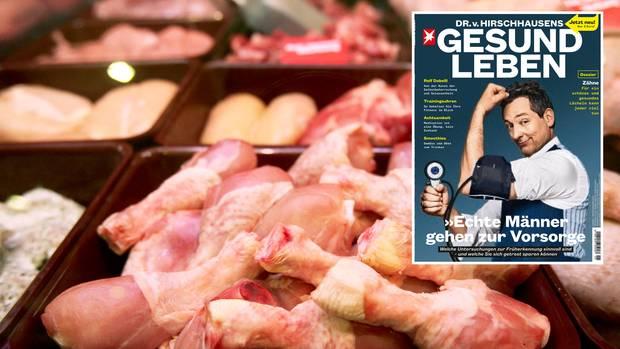 Geflügelfleisch im Supermarkt