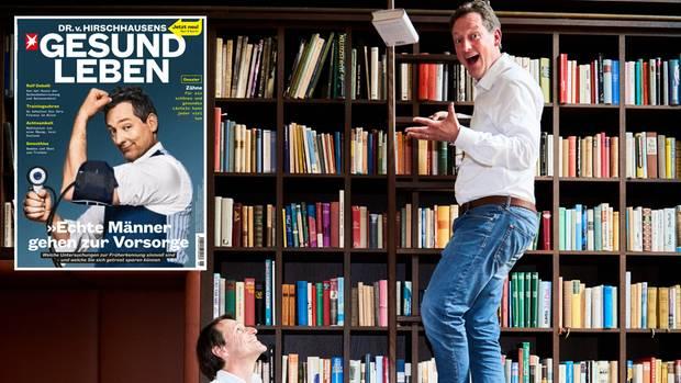 """""""Wie viel Vernunft ist vernünftig?"""" Eckart von Hirschhausen traf Bestsellerautor Rolf Dobelli zum Gespräch"""