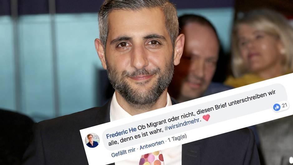 Michel Abdollahi: TV-Moderator wird für offenen Brief an Merkel gefeiert – sein Appell ist eindeutig
