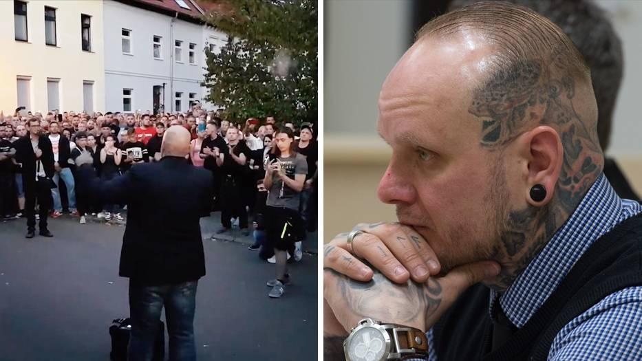 """Demo in Köthen: Thügida-Chef spricht vom """"Rassenkrieg gegen das deutsche Volk"""""""