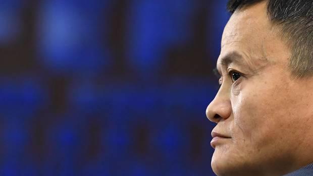 Portrait von Jack Ma
