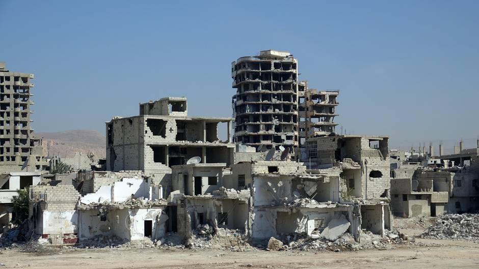 Niederlande: Syrien zerstört, Niederlande beteiliggt