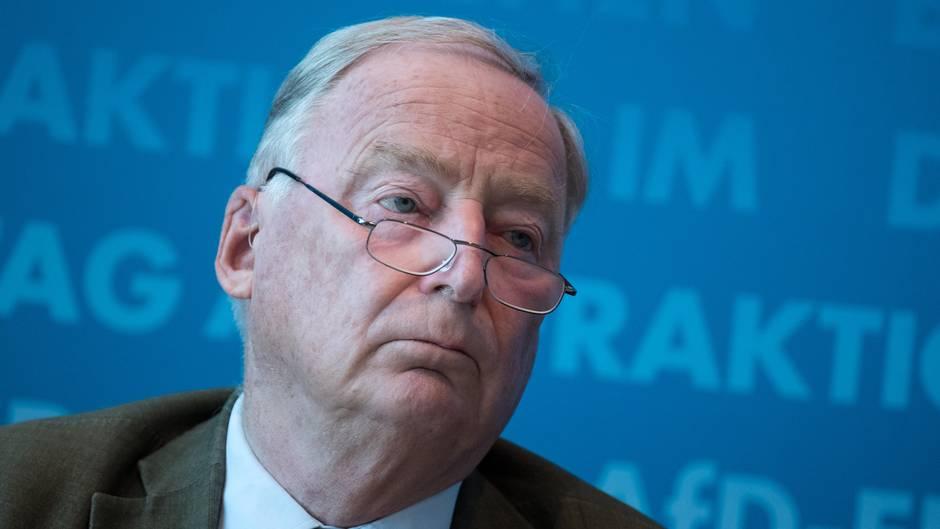 """AfD-Chef Alexander Gauland: Maaßen habe """"natürlich inkeiner Weise uns irgendwelche Ratschläge gegeben"""""""