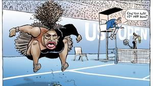 Serena Williams Cartoon