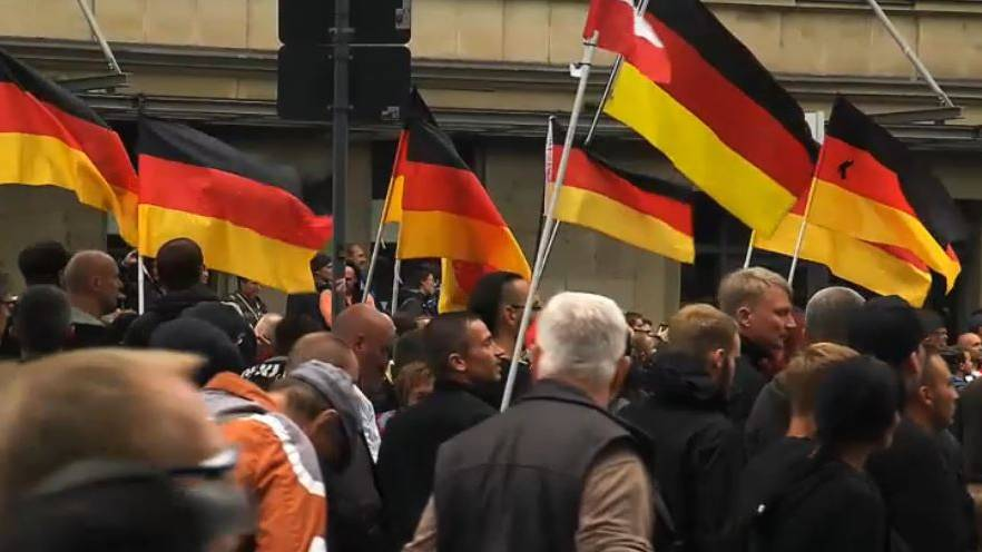 Hetzjagden Chemnitz