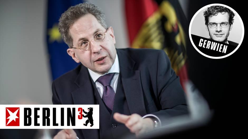 Verfassungsschutz-Präsident Hans-Georg Maaßen wegen seiner Äußerungen zu Chemnitz ist erheblich unter Druck geraten