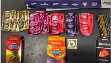 Tweet der Polizei Berlin von den gestohlenen Kondomen