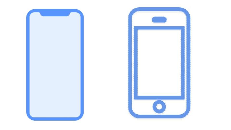 iPhone X System Icon iOS