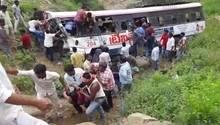 Bus-Unglück in Indien - der Bus