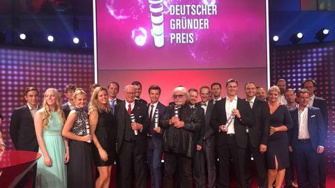 Nachhaltigkeit und Energiewende waren die großen Themen beim diesjährigen Gründerpreis in Berlin