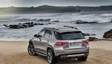 Mercedes GLE 2019 - zunächst ist nur ein Benzinmotor verfügbar