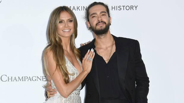 Heidi Klum und Tom Kaulitz bei den Filmfestspielen in Cannes im Mai