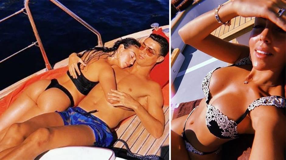 Heiße Urlaubsbilder: Cristiano und Georgina lassen die Seele baumeln