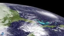 "Satellitenbild zeigt Hurrikan ""Florence"" überdem Atlantik"