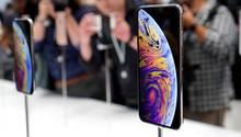 Apple baut jetzt Telefone mit noch größeren Displays.