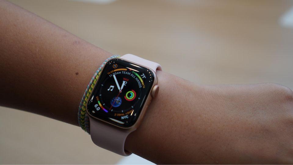Neue Uhr: Apple Watch 4 ausprobiert: Diese Uhr ruft den Notarzt
