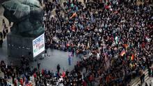 Chemnitz: Zuerst marschierten Rechte, dann wehrte sich die Mehrheit
