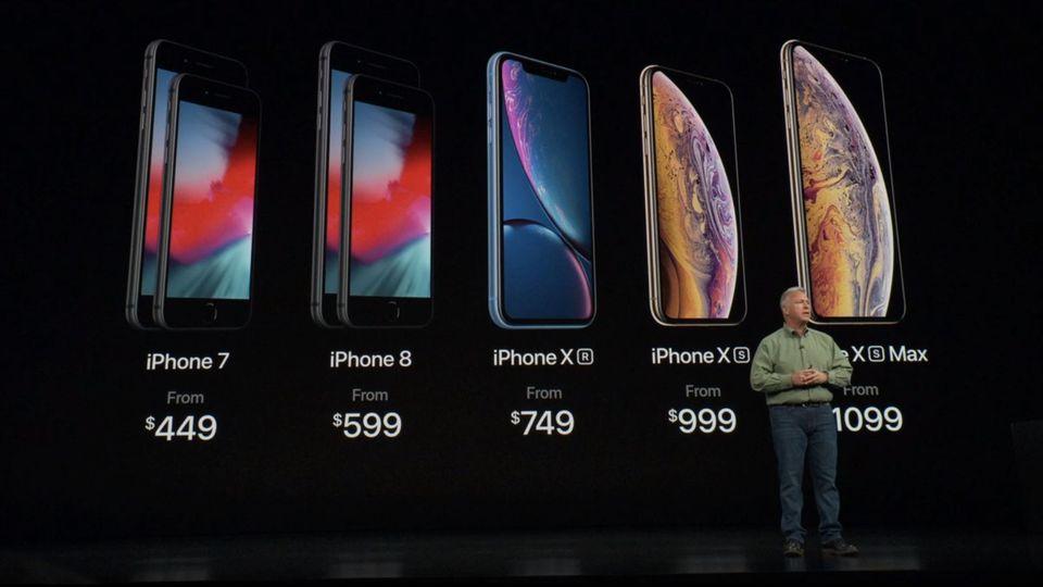 Apple-Event: Bis zu 1650 Euro: Das sind Apples neue iPhone-Preise