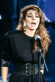 Die Sängerin Sandra