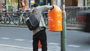 Flaschensammler in Berlin