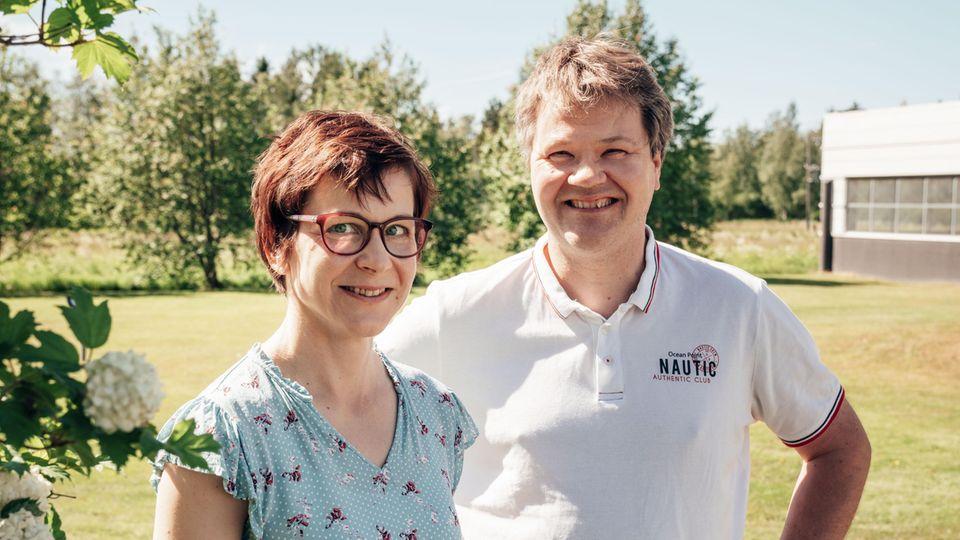 Die Wissenschaftler Kaisu Martinmäki und Jyrki Schroderus forschen für Polar auf den Gebieten der menschlichen Physiologie und der neuesten Technologien – die Firma lebt davon, beides zu verbinden.